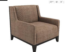 3D Morgan Club Lounge Chair