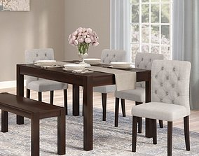 3D Gardners 6 Piece Dining Set
