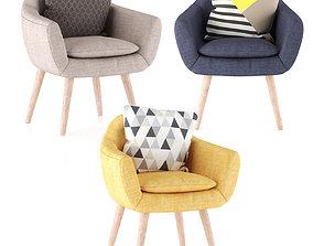 nordic armchair 3D model