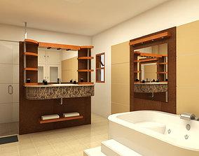 architecture 3D Bathroom Design