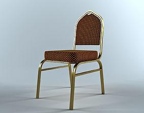 banquet chair 1 3D model