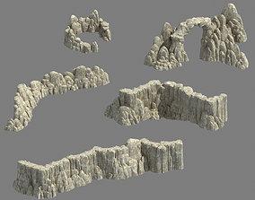 3D Huaguo Mountain - Mountain Hill Road 02