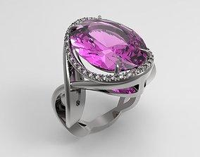 0009 Engagement Ring 3D printable model