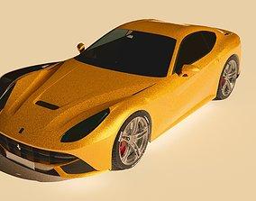 3D Ferrari F12 Berlinetta mclaren