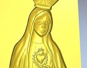 virgin Virgin Mary 3D model