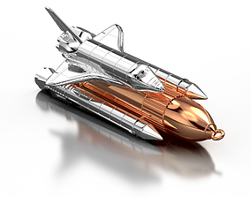 3D printable model jewelery Space shuttle Jewelery