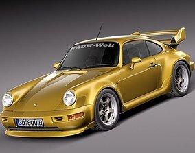 Porsche 911 964 turbo 1990 3D