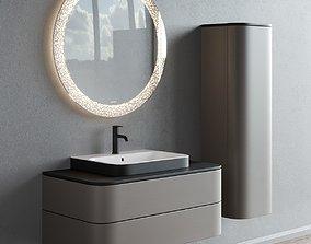 Duravit HAPPY D2 PLUS Single vanity unit 3D asset
