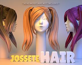 3D model Josette Hair