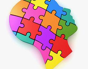 Puzzle Head 3D model