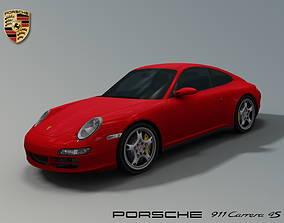 Porsche 911 Carrera 4S 997 3D model