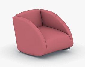 3D model 0673 - Armchair