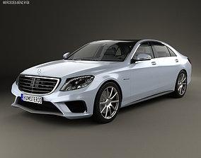 3D Mercedes-Benz S-Class 63 AMG W222 2014
