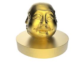 3D print model Sculpture of Buddha faces