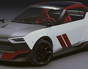 3D asset Realistic Mobile Car 06 Nissan NISMO IDX