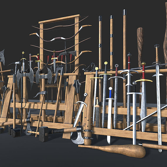Medieval Weapons Collection Vol1