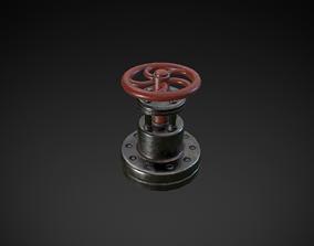 Valve 3D asset