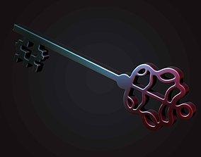 derorative key 3D print model