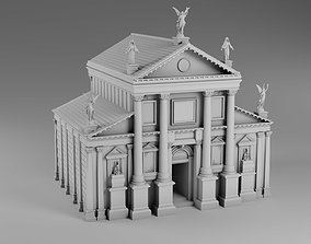 3D printable model Gothic style build