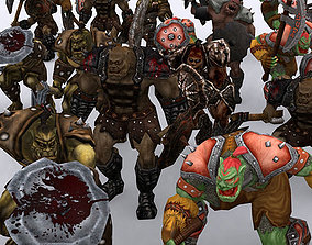 3DRT - Orc Fantasy Character animated realtime