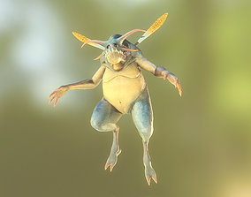 fairy 3D model rigged