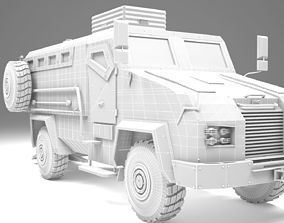 BMC Kirpi Armored 3D model