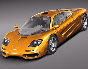 McLaren F1 1994-1998 3D model
