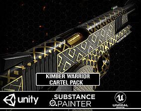 Kimber Warrior M1911 Cartel Pack 3D asset