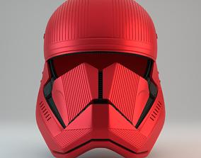 Sith Trooper Helmet - Star Wars The Rise 3D print model 2