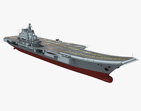 3D Chinese Liaoning Aircraft Carrier