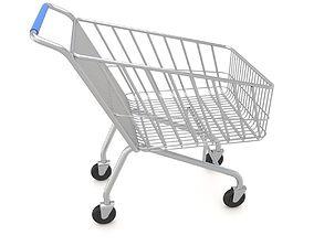 3D model Supermarket Shopping Cart