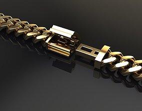 Cuban Chain Bracelet Necklace Link SIZE 5MM 3D print model