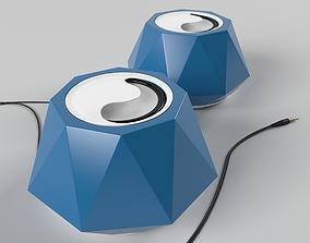 Speaker SAST Geometric 3ds max 2014