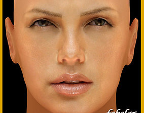 3D Charlize Theron