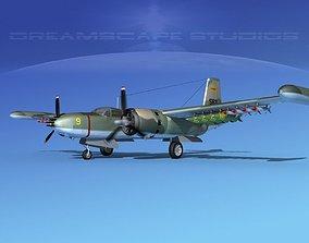 3D Douglas A-26K Invader S Vietnam