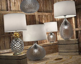 Decorative lamps Glamour 3D model