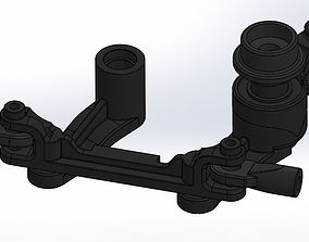 Traxxas T Maxx E Maxx Sterring Set Assembly 4945 3D Print