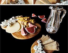 3D model Cheese platter