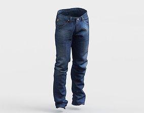 Jeans photorealistic 3D