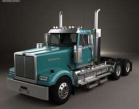 Western Star 4900 SF EX Day Cab Tractor Truck 3D model