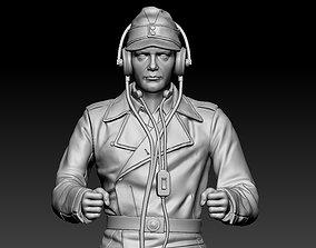walkie German officer 3D print model