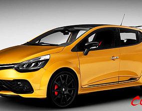 Renault Clio RS 2018 3D model