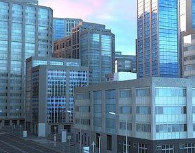 City Scape 9 3D model