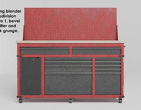 3D model Garage 60inch tool cabinet