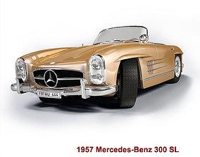 Mercedes-Benz 300SL Roadster 1957 3D