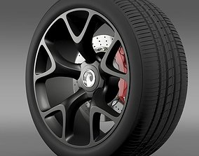 Vauxhall Insignia VRX wheel 3D