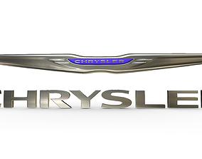 3D chrysler logo