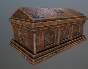 Tomb 1 3D model VR / AR ready