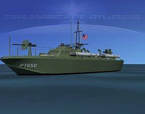 3D model Higgins Class PT Boat PT650