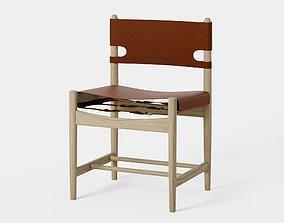 The spanish dining chair - Blender 3D